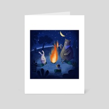 Storytelling - Art Card by Denise Turu