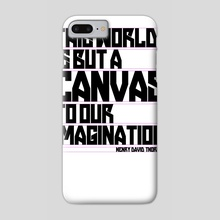 This World Is But A Canvas - Phone Case by Matthew Bartlett