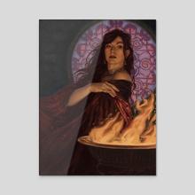 Melisandre - Acrylic by Nicholas Elias