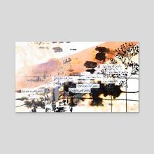 Art Collage_10 - Acrylic by Dana Krystle