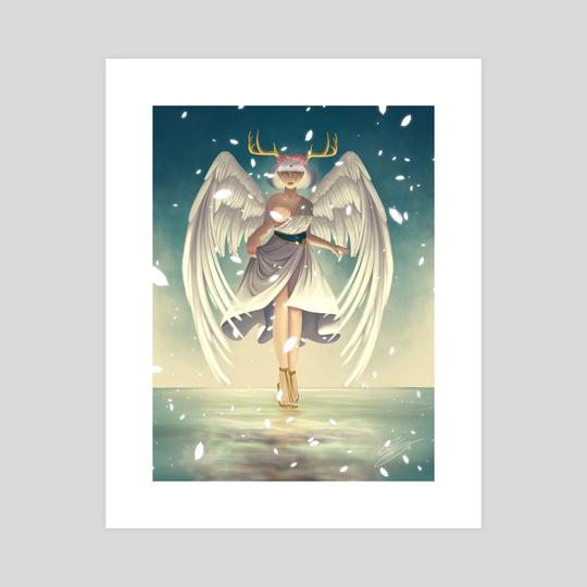 Angel Wings by Amaya Gormley