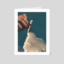 Snort - Art Card by Nikola Miljkovic