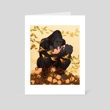 Ready Or Not, Here I Come - Art Card by Michael Marsicano