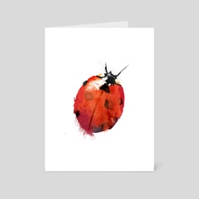 Ladybird - Art Card by Greg Araszewski