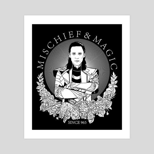 mischief & magic since 965  by Barbara Hudeczek