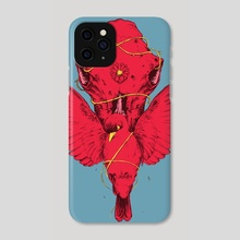 Death and All Her Names - 100 Limited Edition Prints nr2 - Phone Case by Kacper  Gilka