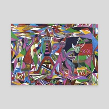 Instrumental HQ - Canvas by Juan Francisco Herrera