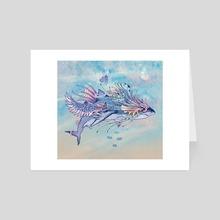 Journeying Spirit (shark) - Art Card by Mat Miller