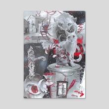 dream - Acrylic by Daniel Grzeszkiewicz