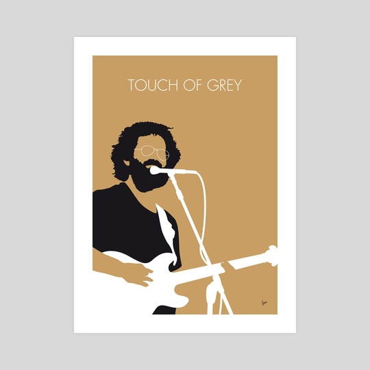 No140 MY Grateful Dead Minimal Music poster by Chungkong