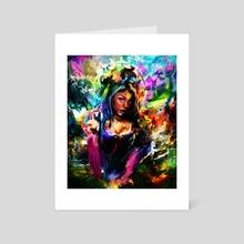 mermaid - Art Card by Maxim G