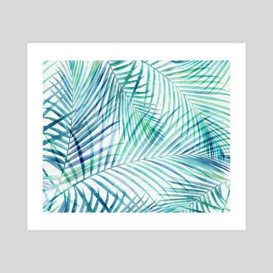 Tropical Palm Print by Modern Tropical