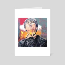 Blood Sweat Jimin - Art Card by Quantrale Amos