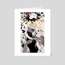 Death - Art Card by Xanthe Bouma