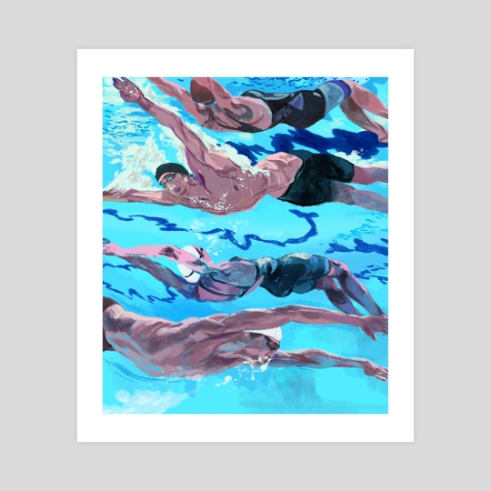 Swimmers by Ciaran Murphy