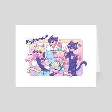 Catboys :3 - Art Card by Ray Pratiwi