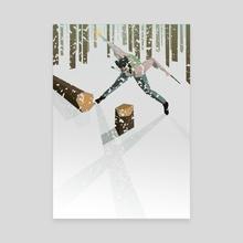 Logan - Canvas by Liam Brazier