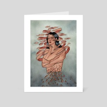 Flow  - Art Card by Tilda