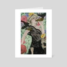 Beauty is a Pain - Art Card by Rachel Wilson