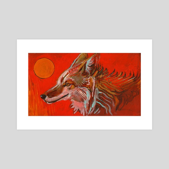 Coyote Sun by birds