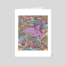 Like A Bad Smell It Won't Wash Off - Art Card by Kirsten Rothbart