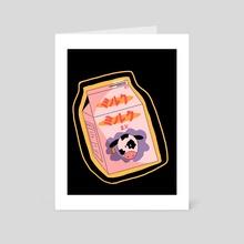 milk_01 - Art Card by mickcat