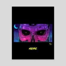 MACHINE - Canvas by Tony Kei