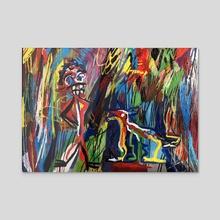 El Cipitio - Acrylic by Juan Francisco Herrera