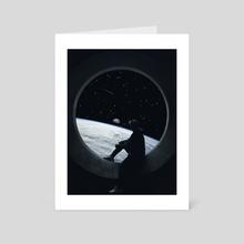 Leaving Earth - Art Card by Gerro