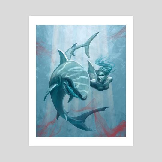 Shark by Yasu Matsuoka