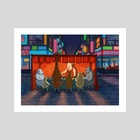 Street Food - Art Print by EKAH