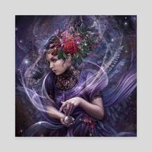 Got me dreaming - Canvas by Gracjana Zielinska