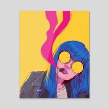 AESTHETIC LORNA - Acrylic by Diberkato
