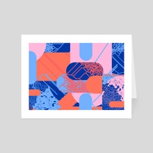 abstract background - Art Card by wudufu