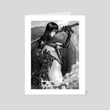 Reika - Art Card by Daniel Eichinger