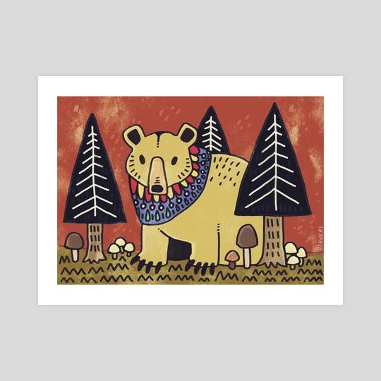 Bear Forest by Bern Lehtinen