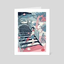 Not found - Art Card by sanagi mitsuki