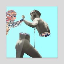 Music Psicodelia - Acrylic by Andres Sc