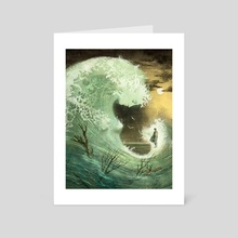 Wave - Art Card by Anna and Elena Balbusso Twins
