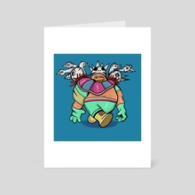 Junkyard Wrestlers: Big Bird Boi - Art Card by ProbCause