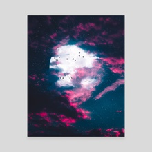 New Night - Canvas by Ryan Ford