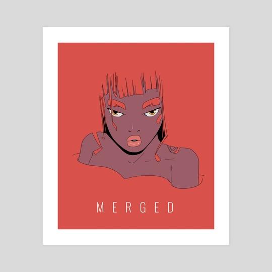 M E R G E D by Charlie Cruz