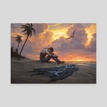 Castaway's Despair - Canvas by Chris Rahn