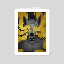 Blinding Rage - Art Card by Angelika Blieweis