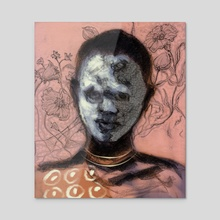 From the Omo Valley 3 - Acrylic by Vinicius Chagas