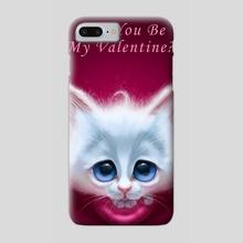 Be my Valentine - Phone Case by Alexander Novoseltsev