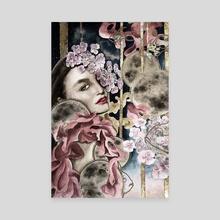 Moona - Canvas by Aigul Rieker
