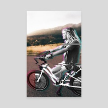 Glitching the ride - Canvas by Alexandre Ibáñez
