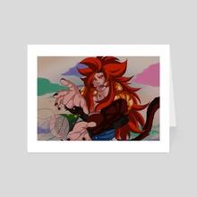 SSJ4 Gogeta - Art Card by Sokunary MER