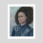 "Missandei ""Dracarys"" of Naath - Art Print by the monarq"